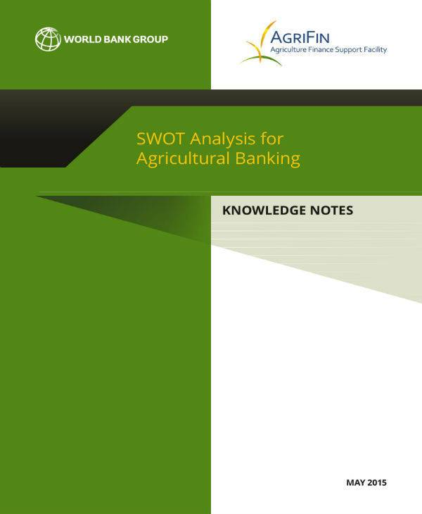 agricultural banking swot analysis