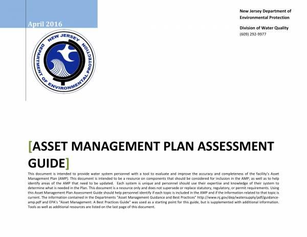 asset management plan assessment guide 01