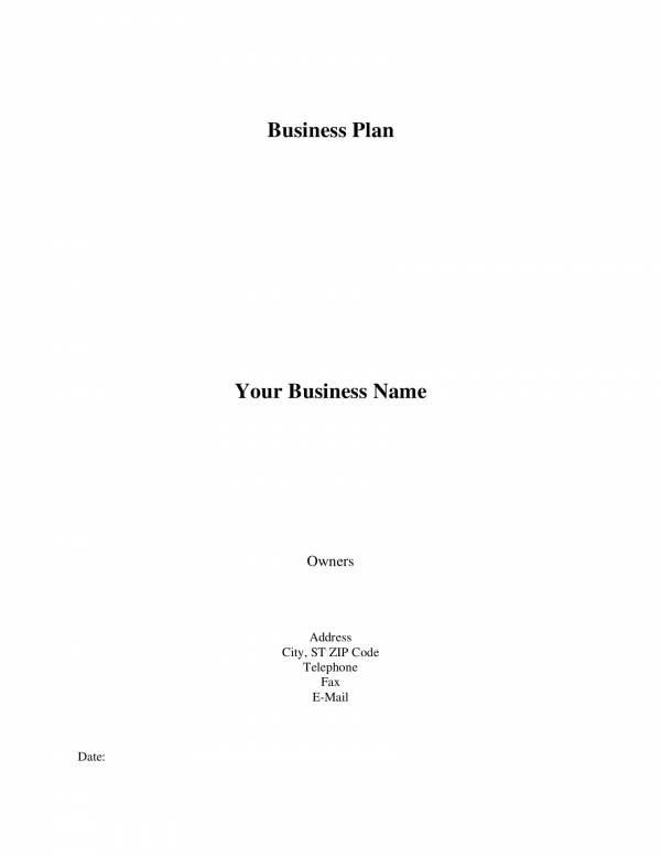 blank business plan template 02