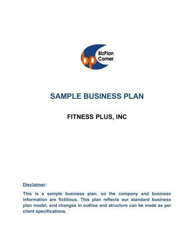 business plan with profit and loss statement