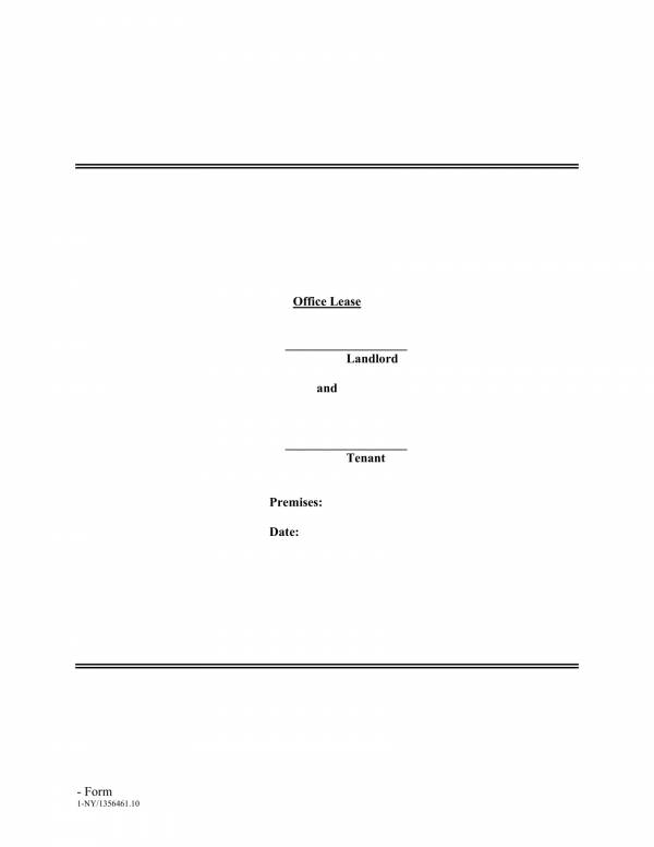 complete office lease agreement template 01