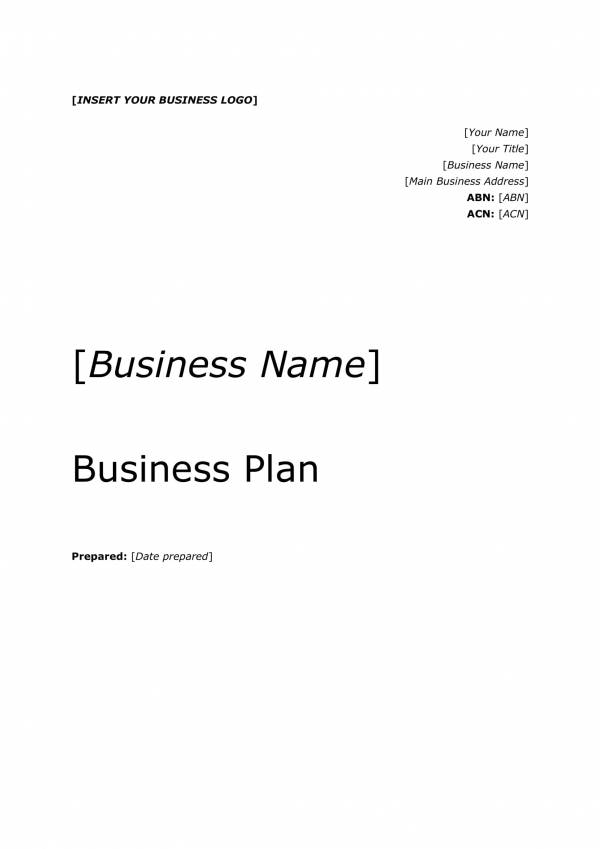 editable business plan template 03