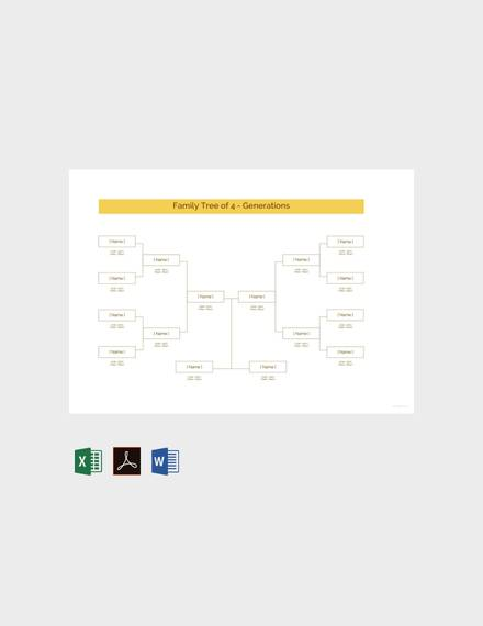 Family Tree Template 53 Download Free Documents In PDF Word PPT
