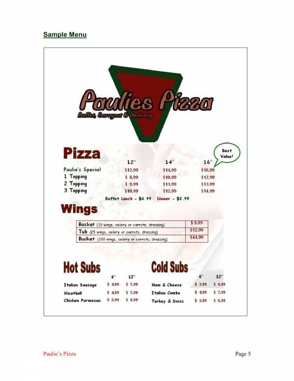 pizzeria business plan sample 08