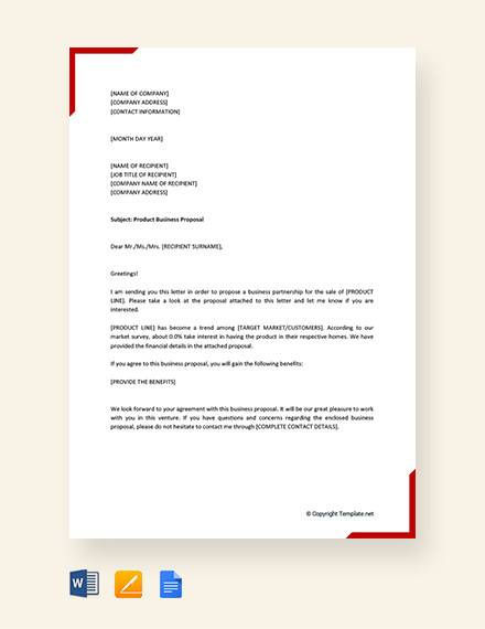 product business proposal letter1