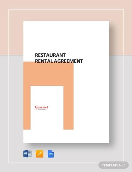 restaurant rental