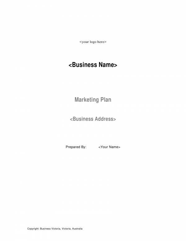 business marketing plan template 01