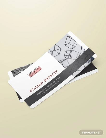 event ticket voucher