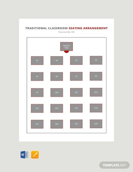 Free 20 Printable Seating Chart Templates In Illustrator Indesign Ms Word Pages Psd Publisher Google Docs