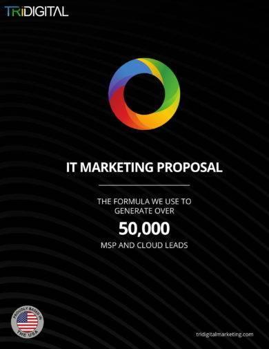 it marketing campaign proposal