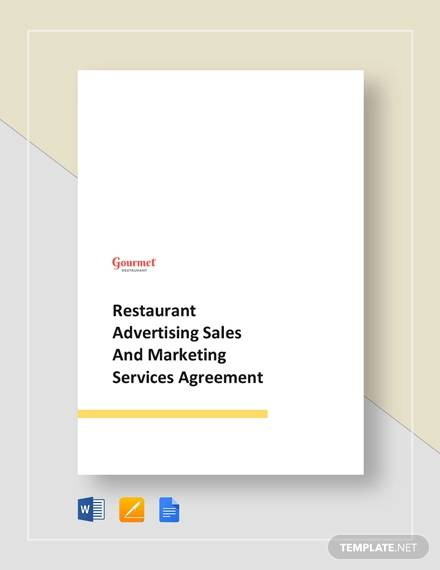 restaurant advertising sales and marketing