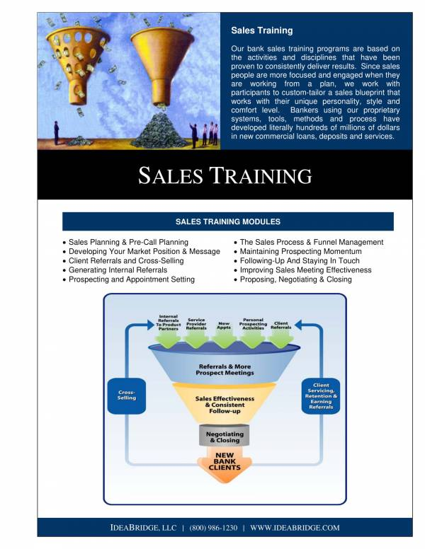 sales training program sample 2