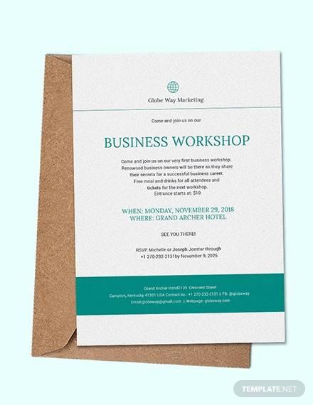 sample business invitation
