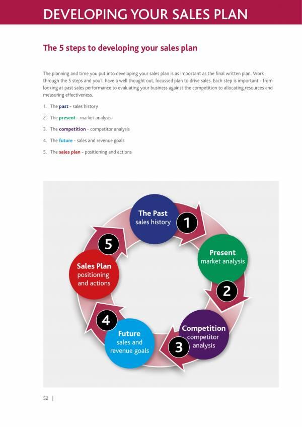 sample sales plan development template 1