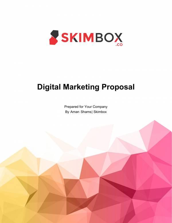 standard marketing campaign proposal 01
