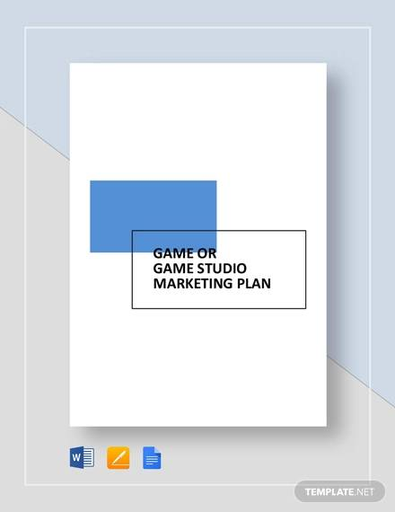 game or game studio marketing