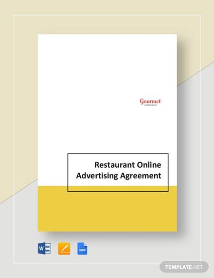 restaurant online advertsing