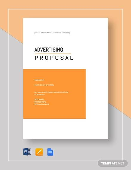 advertising proposal template1