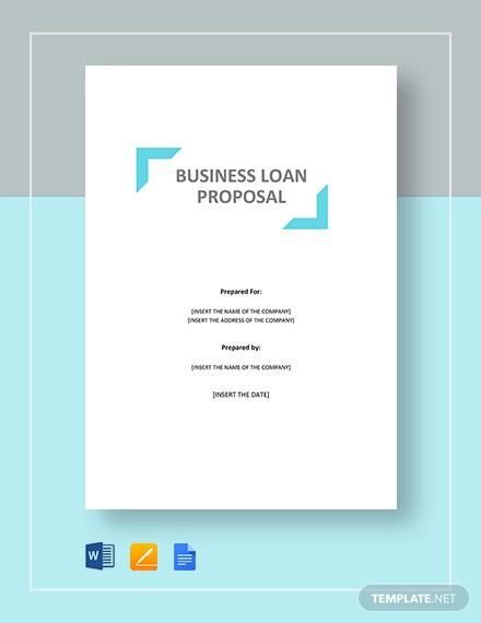 business loan proposal1