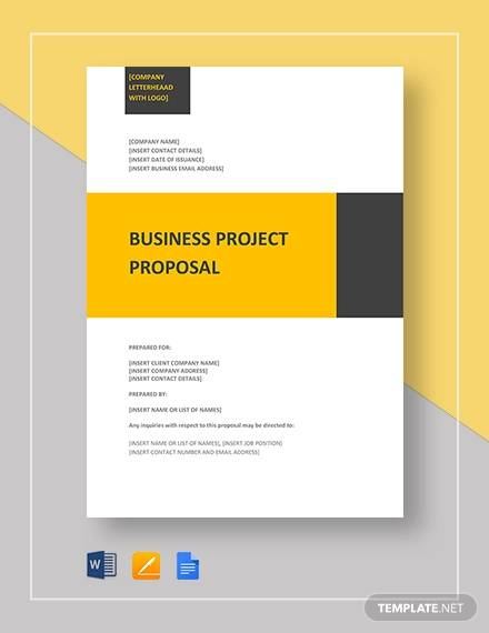 business project proposal template2