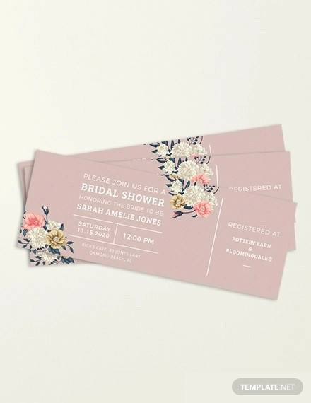 ticket invitation template2