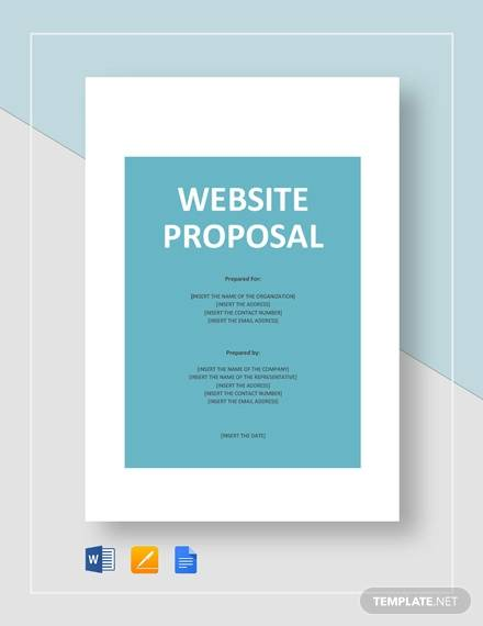 free 10  website design proposal templates in ms word