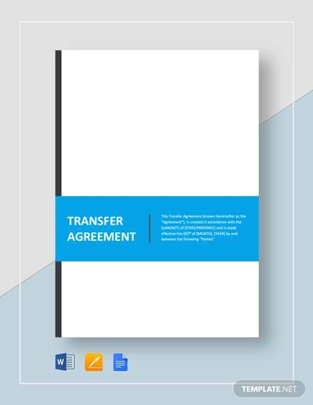 agreement of transfer