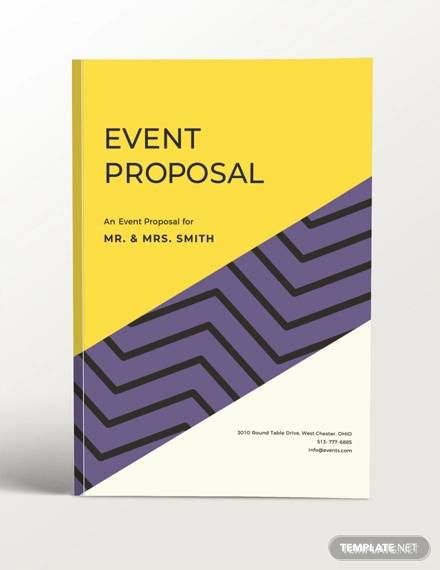 free event proposal template