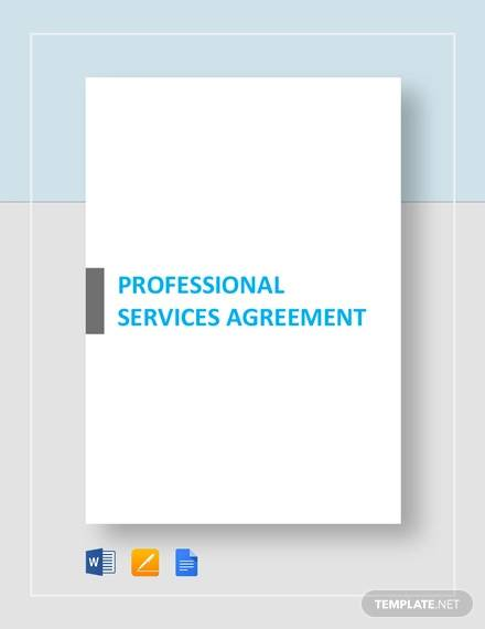 professional services agreement template1