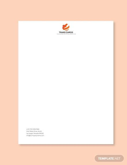 Free 16 Company Letterhead Templates In Ai Indesign Ms Word Pages Psd Publisher