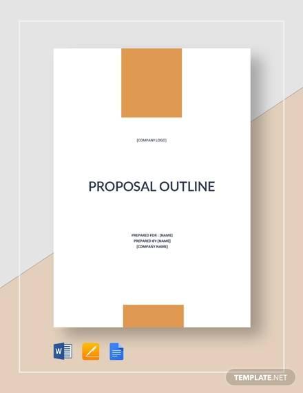 sample proposal outline