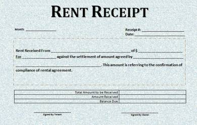 classic car rental receipt sample template