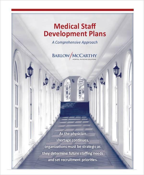 medical staff development plan