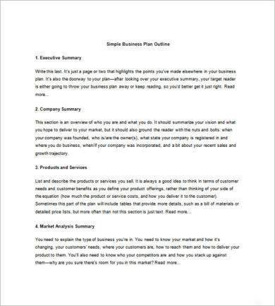 simple network marketing business plan template