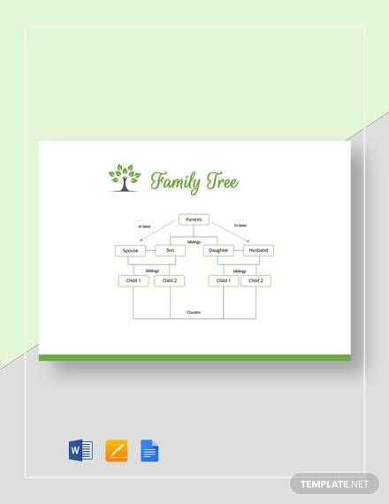 basic family tree template