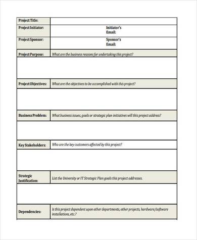 blank it business proposal sample