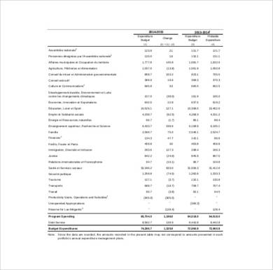 capital expenditure budget template