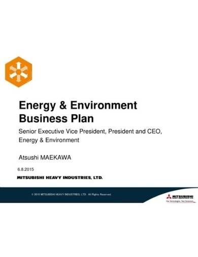 energy and environment plan proposal