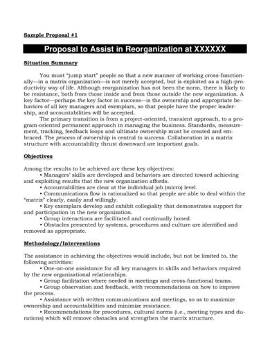 free professional business proposal templates 04