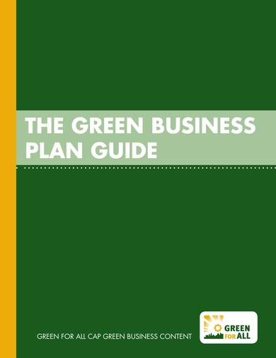 green business proposal guide and template 01