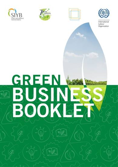 green business proposal template and booklet 01