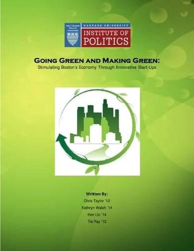 green startup proposal sample template