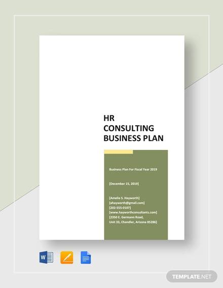 Free 14 Consulting Business Plan Templates In Google Docs