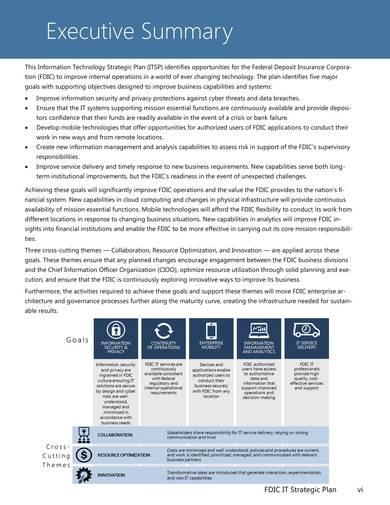 insurance corporation information technology strategic plan