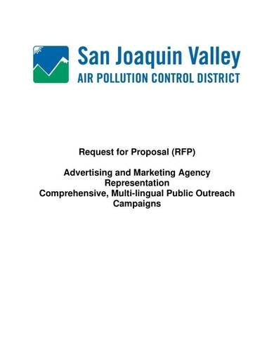 marketing agency proposal sample template