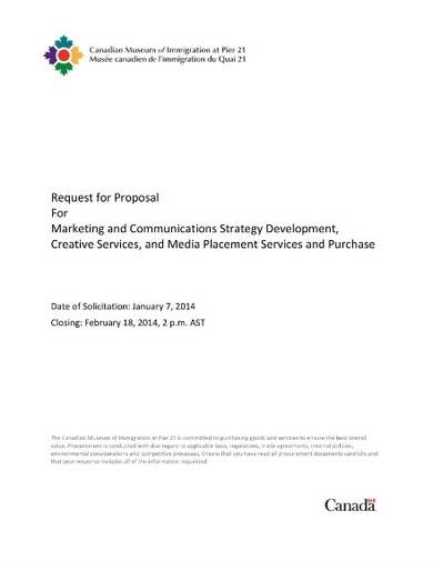 marketing and development proposal sample template