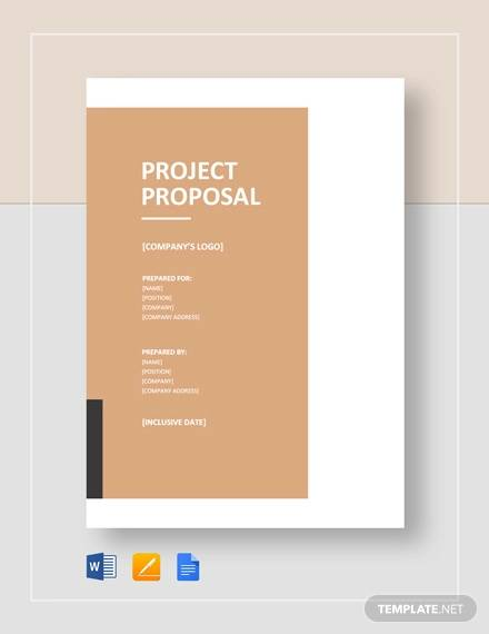 free 12  project proposal samples in pdf