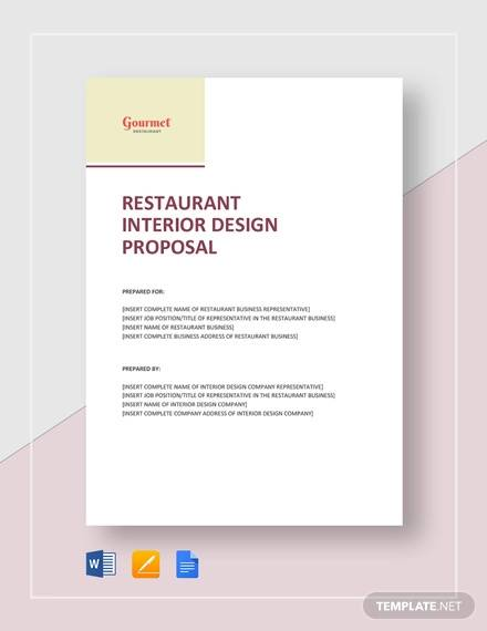 FREE 16+ Sample Interior Design Proposal Templates in PDF ...