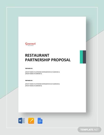 Sample Partnership Proposal - 13+ Documents in PDF