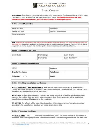 sample event contract form 1